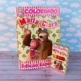 Kit para colorir Masha e o Urso