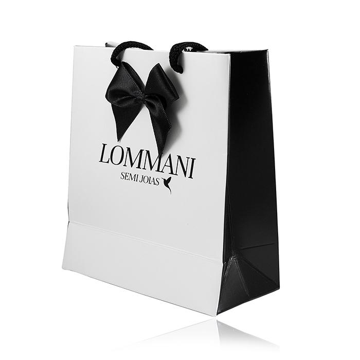 Embalagem Sacola Presente Lommani 1232
