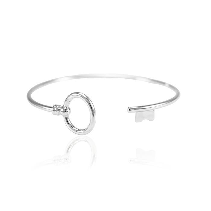 Bracelete Folheado Ródio Inspired Tiffany
