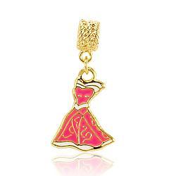 Anel Folheado Ouro 18K Vestido Princesa Aurora