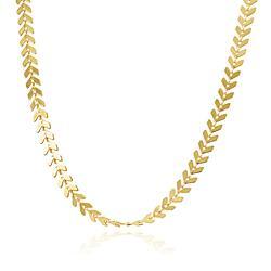 Colar Folheado Ouro 18K Escama de Peixe