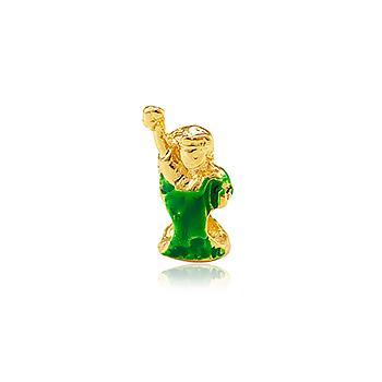 Berloque Folheado Ouro PIG100 MOD368