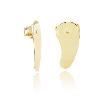Tarraxa Ear Cuff Folheado Ouro 18K