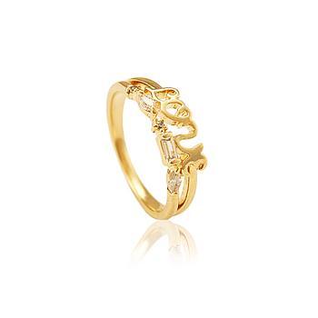 Anel Falange Folheado Ouro ANE06 MOD331