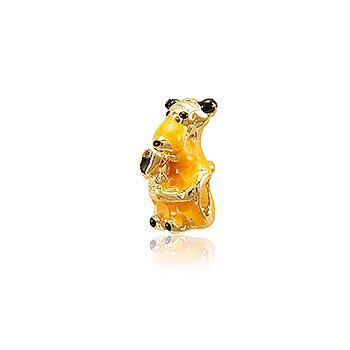 Berloque Folheado Ouro PIG100 MOD431
