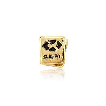 Berloque Folheado Ouro PIG100 MOD452