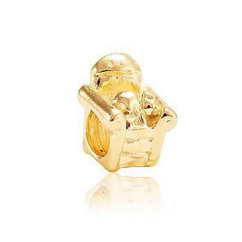 Berloque Poltrona Ouro PIG04 MOD112