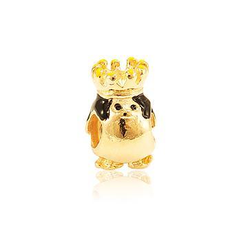 Berloque Folheado Ouro PIG100 MOD205