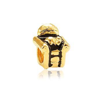 Berloque Folheado Ouro PIG100 MOD197