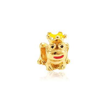 Berloque Sapo de Coroa Ouro PIG100 MOD88