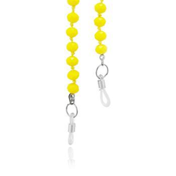 Sunglass com Miçangas Amarelas