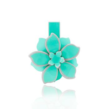 Presilha Flor Verde