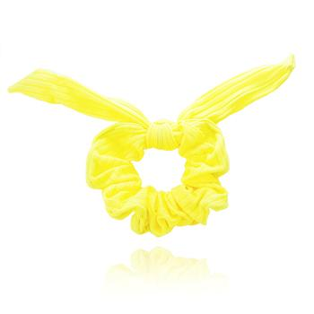 Scrunchie Laço Amarelo