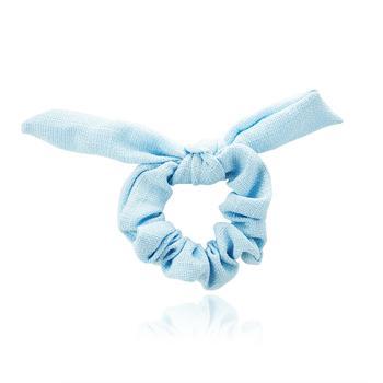 Scrunchie Laço Azul Claro