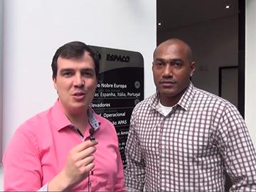 Bruno J. Gimenes entrevista o campeão Claudinei Quirino