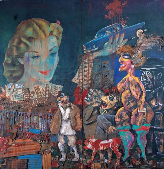 Exposicion De Murales En Bellas Artes