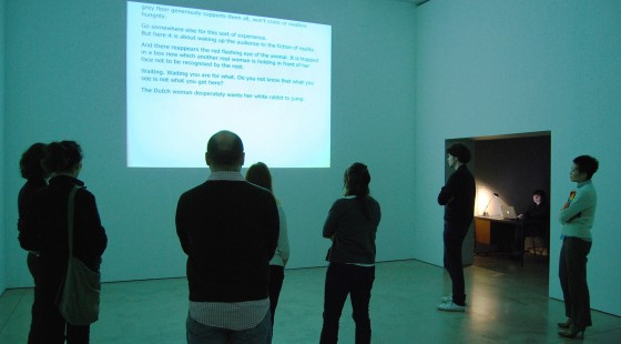 Dora García. Instant Narrative, 2006.