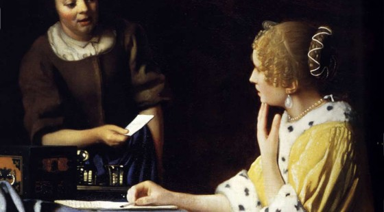Vermeer — Palabra e imagen: una tensión enigmática
