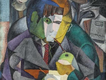 Diego Rivera. Retrato de Ramón Gómez de la Serna, 1915