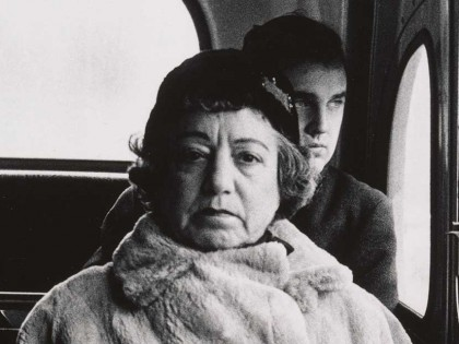 Diane Arbus Lady on a Bus cropped