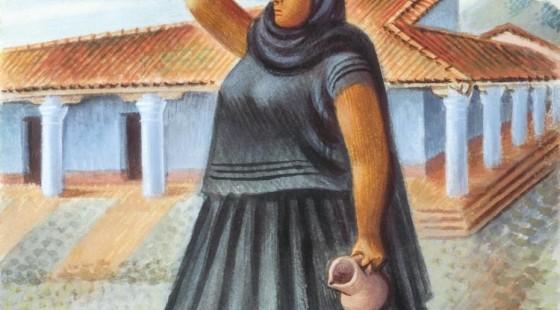 Miguel-Covarrubias-Mujer-de-Tehuantepec-1945