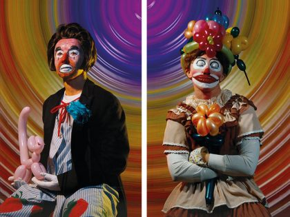 Cindy Sherman. Serie Clowns. 2004.
