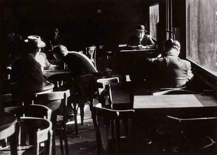 Sameer Makarius. Café en La Boca, ca. 1959.