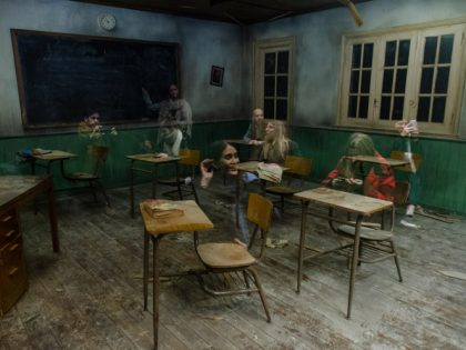 Leandro Erlich Classroom