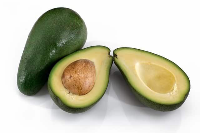 abacate, um fruto que é uma drupa.
