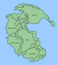 Pangeia - Deriva Continental
