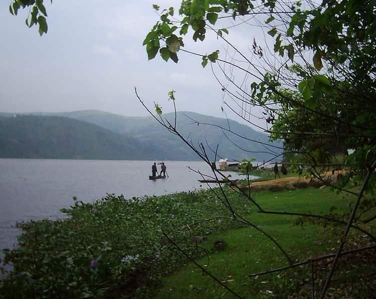 Bacia do Rio Congo, exemplo de área de Clima Equatorial no continente africano.