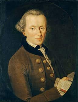 Immanuel Kant.