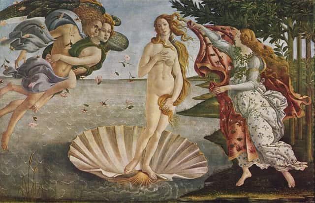 O Nascimento de Vênus, de Botticelli