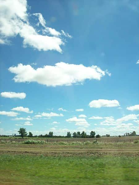 Pradaria localizada em uma província de Buenos Aires, Argentina.