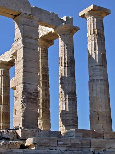 Templo de Poseidon, Grécia.