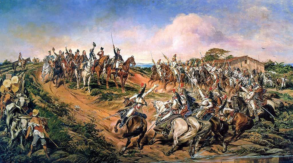 Famosa pintura de Pedro Américo da representação do dia Dia da Independência.