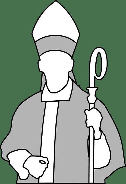 Bispo, Igreja.