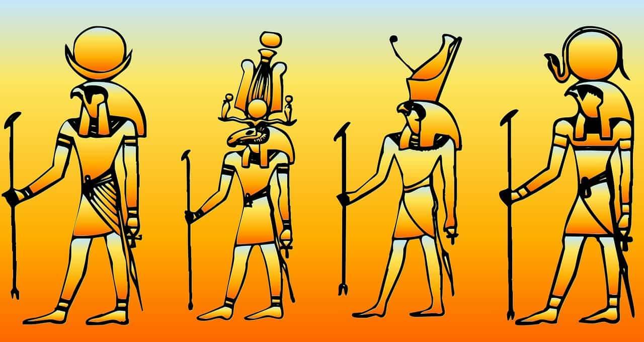 Principais deuses egípcios