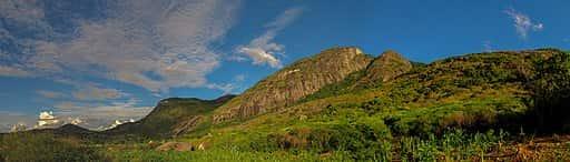 Pico da Boa Vista, localizado na porção pernambucana da Serra da Borborema.