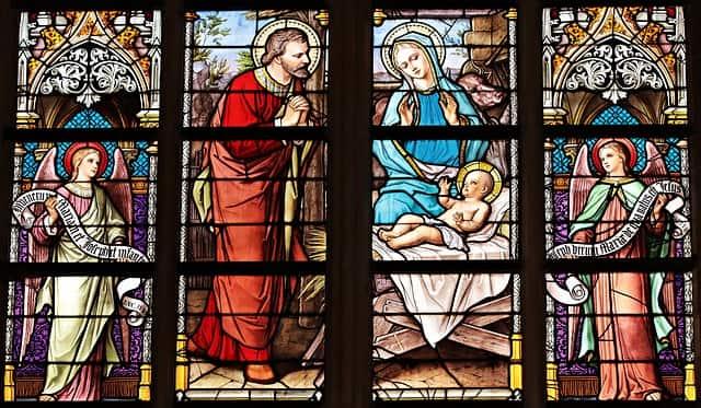 Vidro de Igreja, arte Teocêntrica