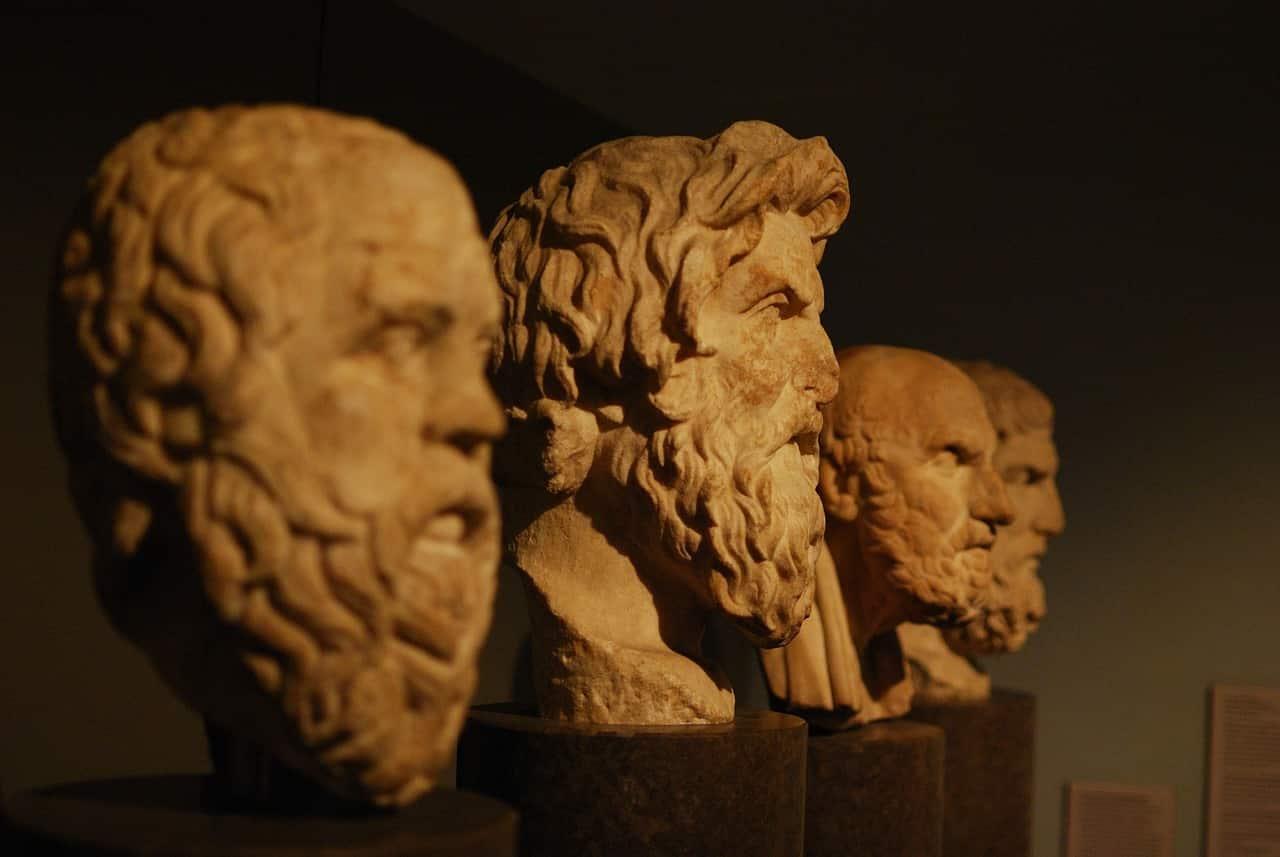 Filósofos gregos.