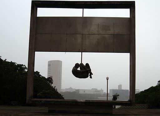 Monumento Tortura Nunca Mais no Recife