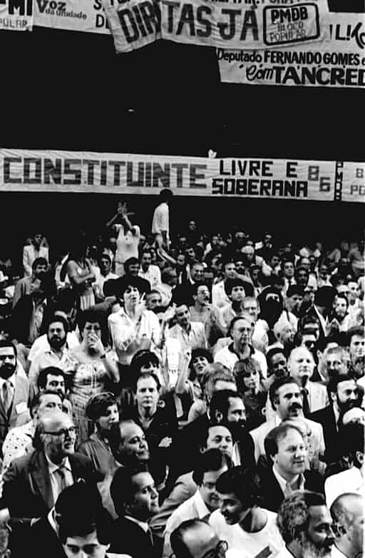 Fotografia do Movimento Diretas Já