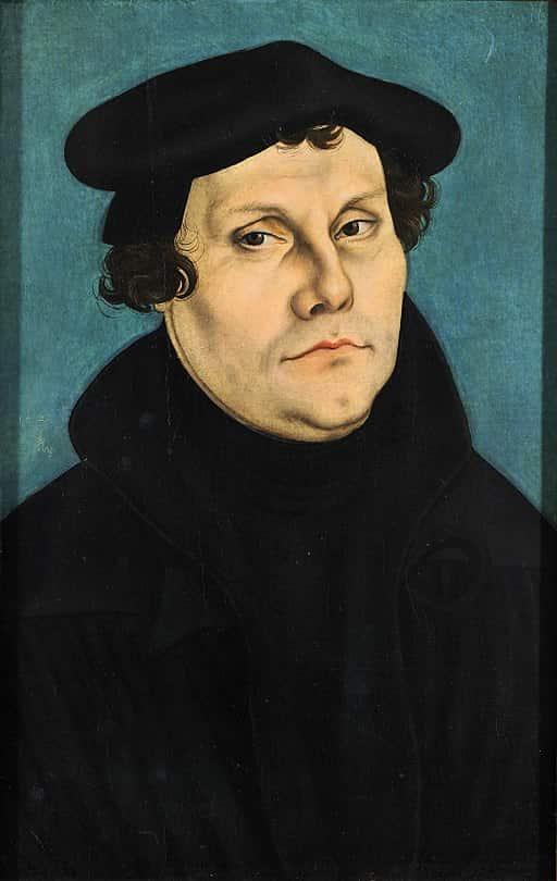 Martinho Lutero.
