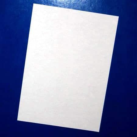 Folha de papel.