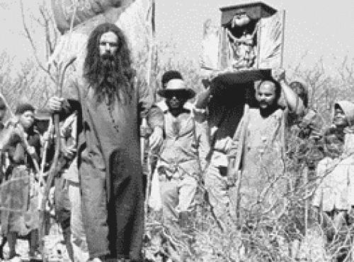 Antônio Conselheiro e seus seguidores.