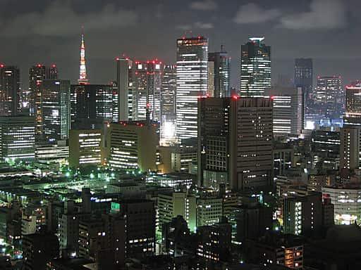 Tóquio, maior megacidade do mundo, com mais de 38 milhões de habitantes.