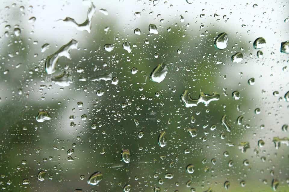 chuva na janela.