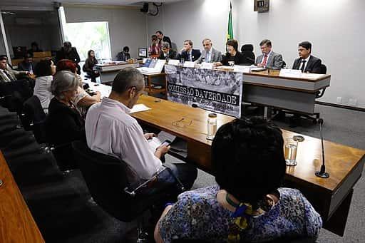 Subcomissão da Memória, Verdade e Justiça em Brasília.