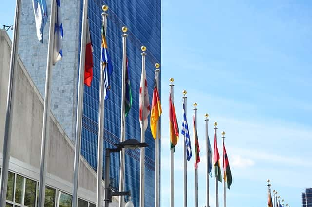 sede da Organização das Nações Unidas (ONU) em Nova York
